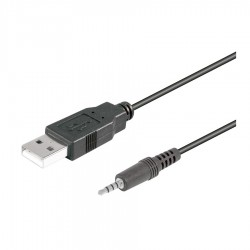 USB macho a Jack 3,5mm macho 4 pin