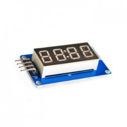 Reloj con Display Compatible Arduino