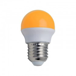 Bombilla LED Color Amarillo 3 W  G45