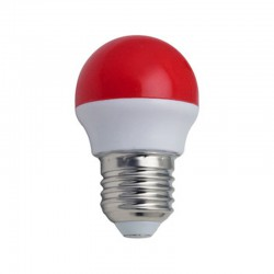 Bombilla LED Color rojo 3 W  G45