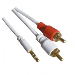 Jack 3.5 mm a 2 RCA Stereo 1,5 metros