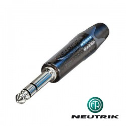 Conector TRS 6,3 mm NEUTRIK
