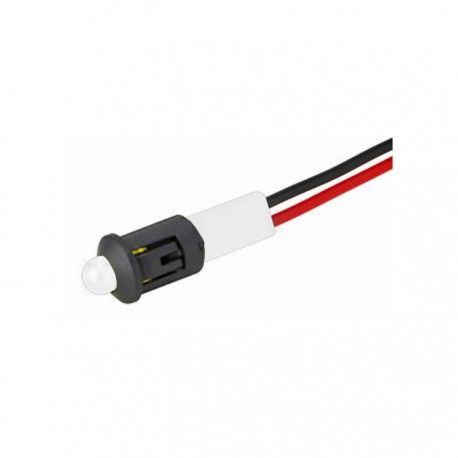 Piloto Led 12 Volt. Blanco