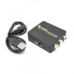 Convertidor  RCA Audio/Video a HDMI