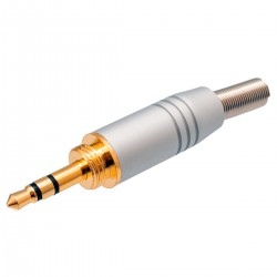Jack 3.5mm Stereo Con Rosca