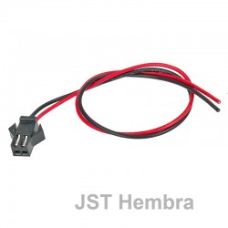 Conector JST Hembra 2 pins con Cable