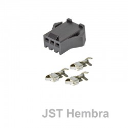 Conector JST Hembra 3 pins