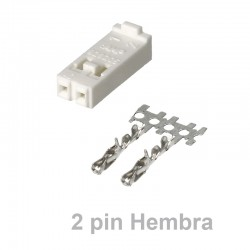 Conector TE Connectivity Hembra 2 pins